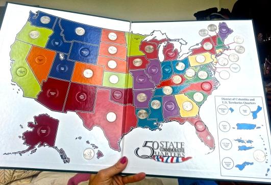 U.S. Quarter Map