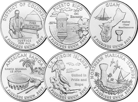 Six U.S. Territories
