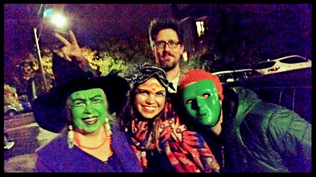 Witch, Princess, Drunk Uncle and Green Guy