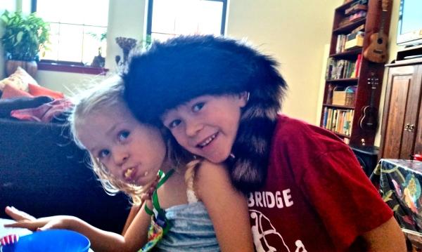 CJ & Gavin in JoJo Hat