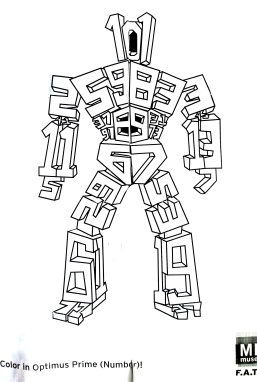 Prime Number Themed Robot