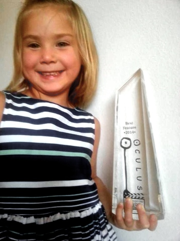 "Autumn and the ""Glass Oculus"" Trophy"