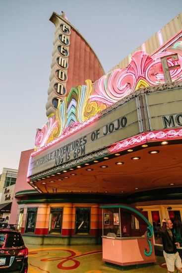 "From the California Premiere in San Louis Obispo (""SLO"")"