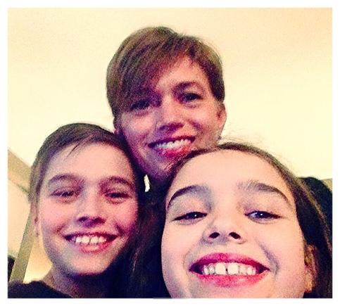 Zachary, Liz & Olivia