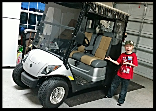 Also complete with GOLF CART