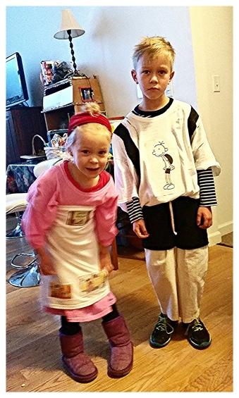 Pancake Lady & Greg Heffley