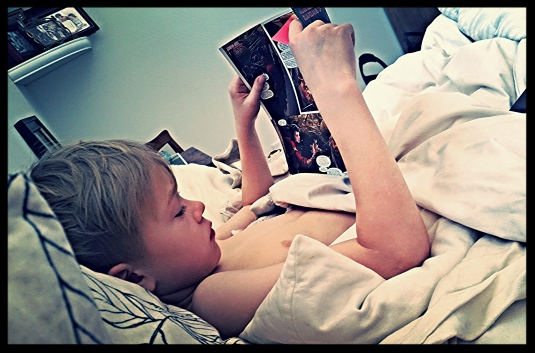 Daddy's Comics Sunday Morning