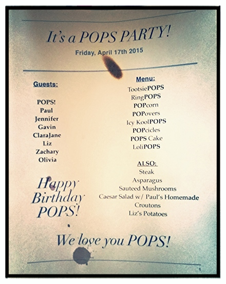 Pops Party