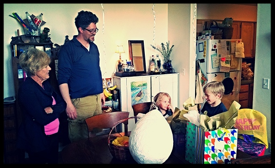 Gifts and Grandma