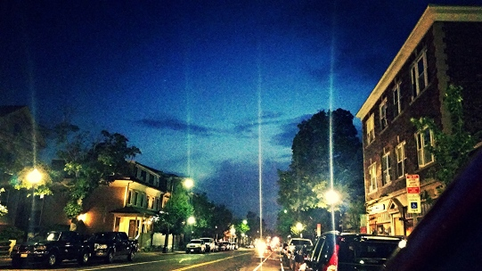 Venus & Jupiter Converge over Cambridge Street