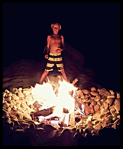 Fire Pit Boy