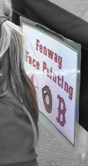 Fenway Face Painting; $1 Million Dollars