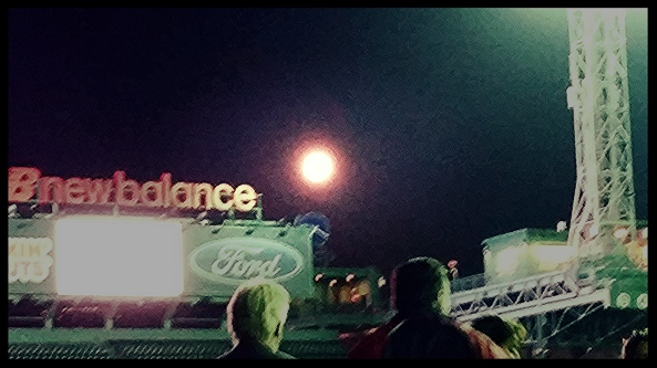 SuperMoon over Fenway