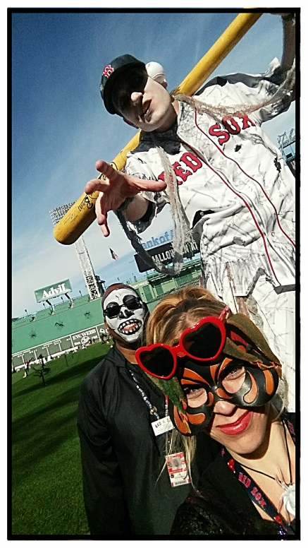 Big League Brian Zombie, Grim Reaper and The Fenway Wench