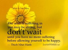 """""""Allowing"""" happiness"""