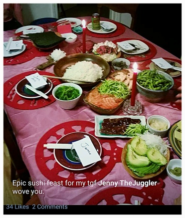 Spectacular Sushi Feast