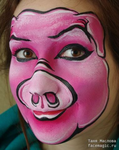 Face Painting A Study In Shrek Circuskitchen
