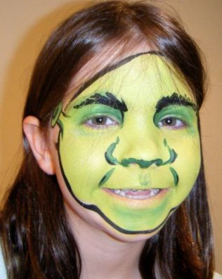 shrek_face_painting