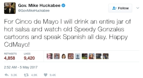 Mike Huckabee Cinco de Mayo.jpg