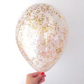 glitter balloon