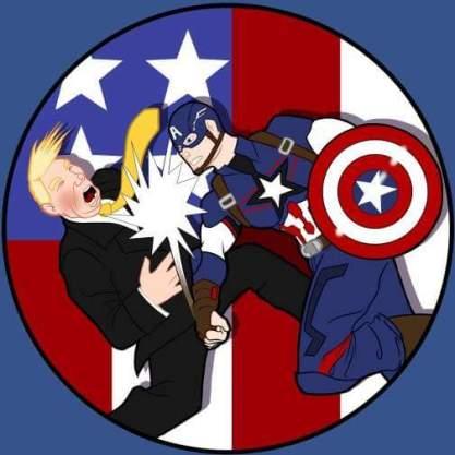 Trump's Captain America