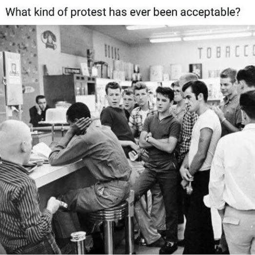 3 Acceptable Protests
