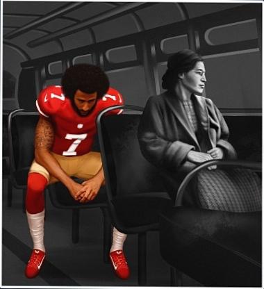 4 Rosa Parks & Kaepernick