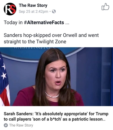 sanders appropriate to say son of a bitch