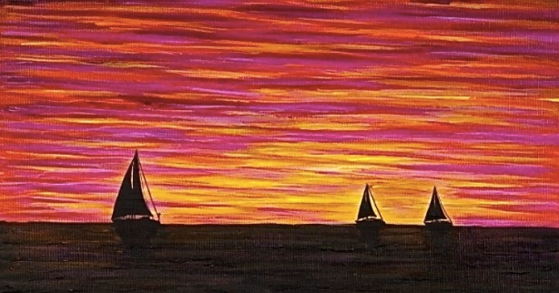 Sunset Triple Sail.jpg