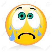 Emoji, emoticon - crying