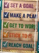 growth mindset - make a goal
