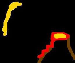 del tiny man volcano
