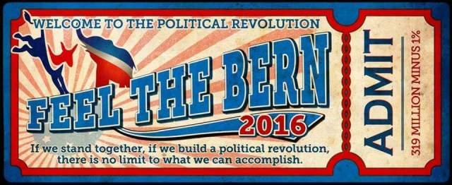 FEEL THE BERN ADMISSION TICKET