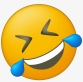 del cry laugh emoji