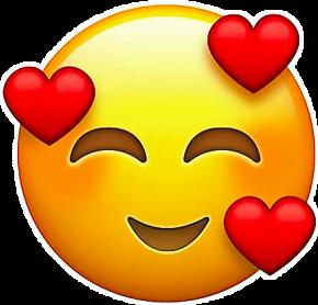 del emoji hearts