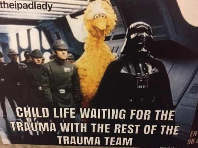 del child life trauma