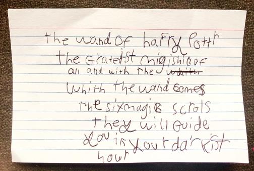 2019-06-14 CJ Harry Potter