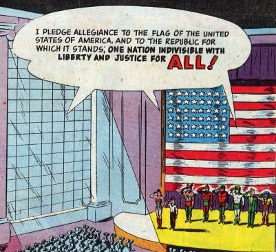 The Actual Pledge of Allegiance