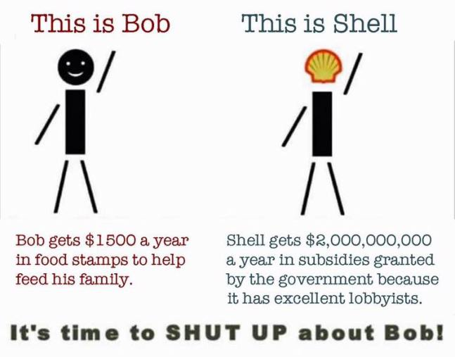 Bob vs. Shell - poor not making you poor