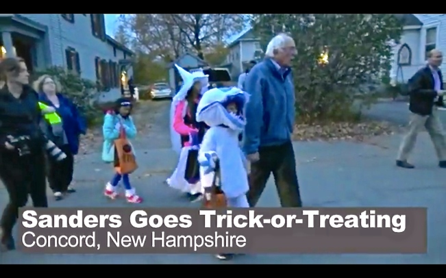 https://www.nbcnews.com/video/bernie-sanders-goes-trick-or-treating-556482115742?cid=sm_fb&fbclid=IwAR1SA2ZmPwWmHFBGRmyHJMmqYXTun5GG2YF6xRYjgadhaQRG4zt8ElhaSyI