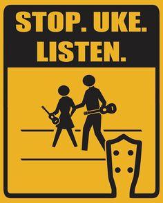 del stop uke listen